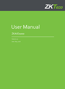 ZKAIO1000 Series User Manual