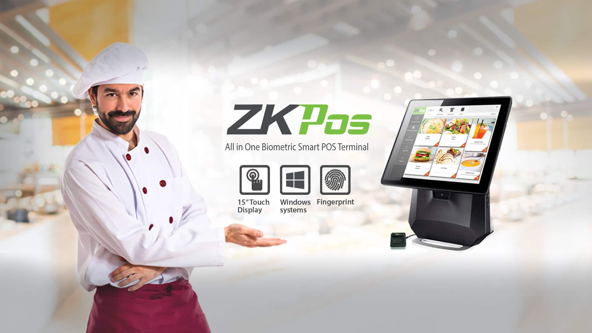 ZKPos all in one pos terminal